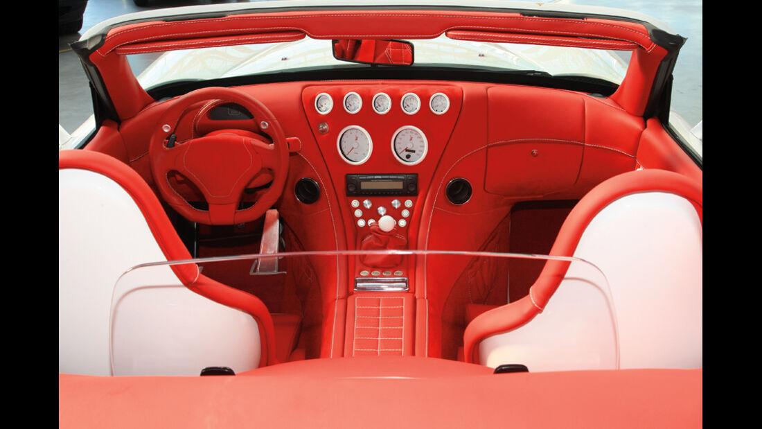 Wiesmann Roadster MF 4-S, Cockpit