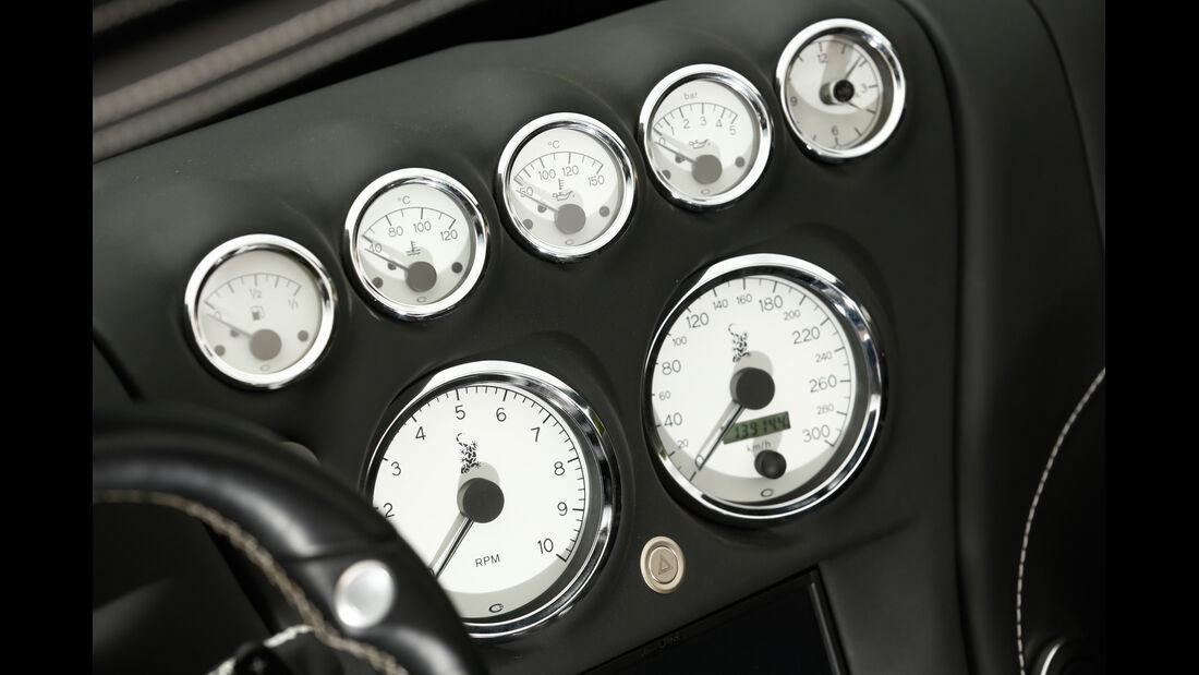 Wiesmann Roadster MF4-S, Rundinstrumente