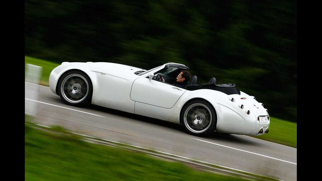 Wiesmann Roadster MF4-S, Seitenansicht