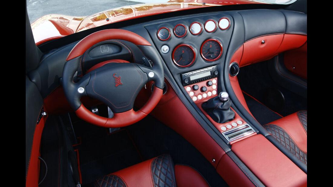 Wiesmann Roadster MF5 Cockpit