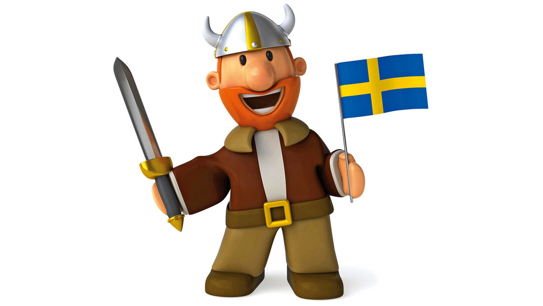 Wikinger, Figur, Schweden