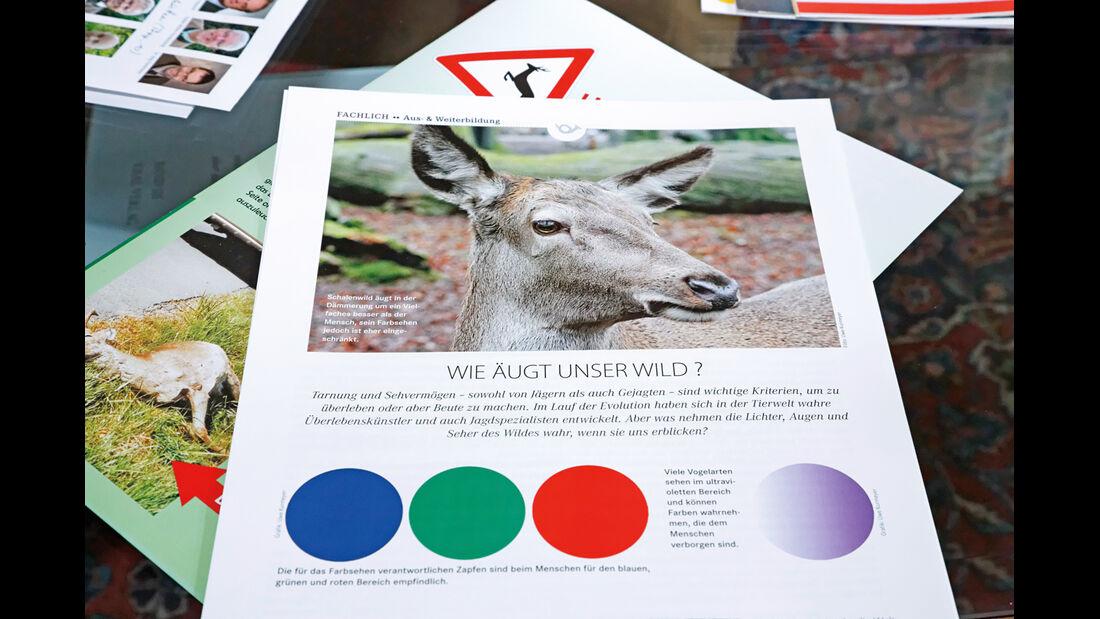 Wildwechsel, Infomaterial