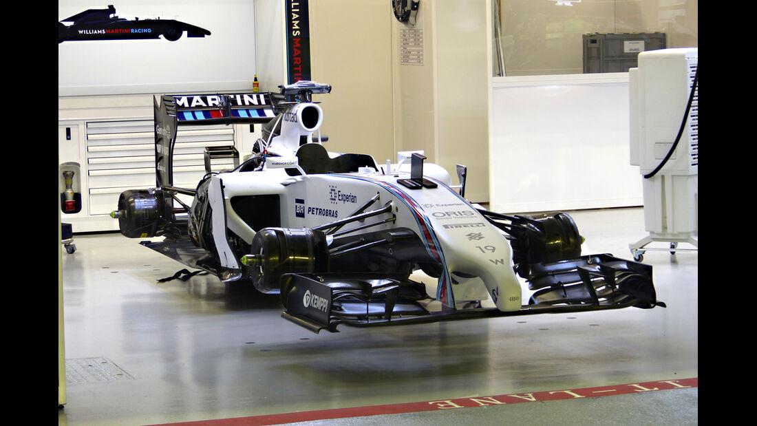 Wiliams - Formel 1 - GP Singapur - 18. September 2014
