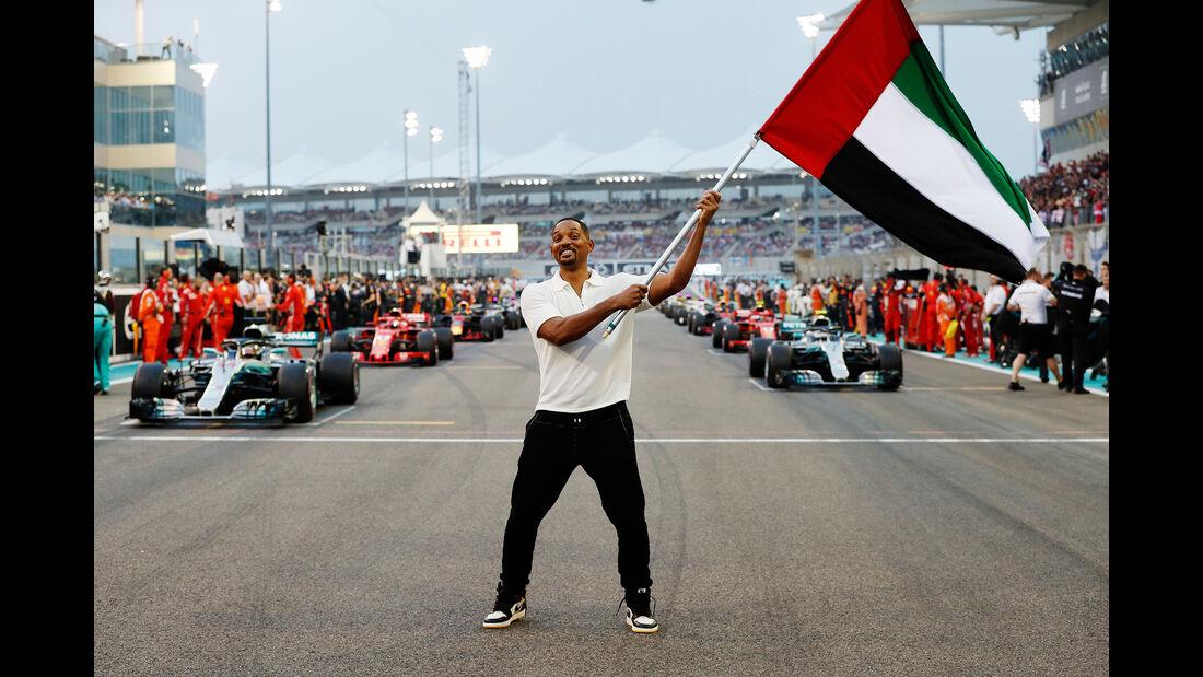 Will Smith - Start - GP Abu Dhabi 2018
