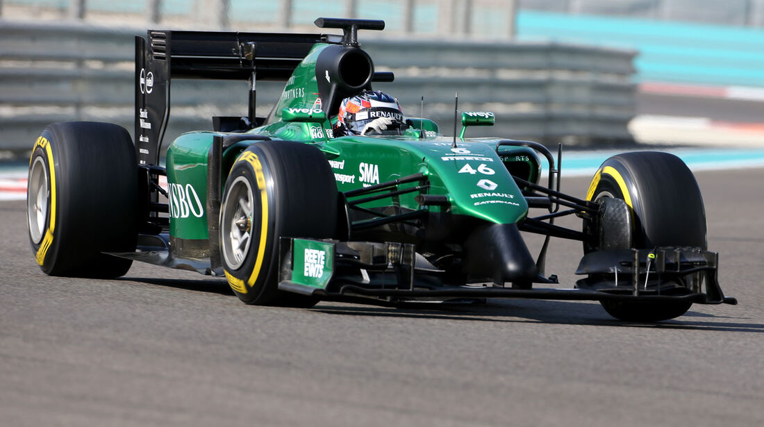 Will Stevens - Caterham - Formel 1 - Test - Abu Dhabi - 26. November 2014
