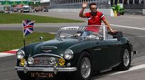 Will Stevens - Fahrerparade - GP Kanada 2015