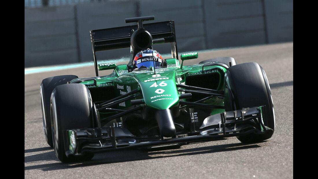 Will Stevens - GP Abu Dhabi 2014