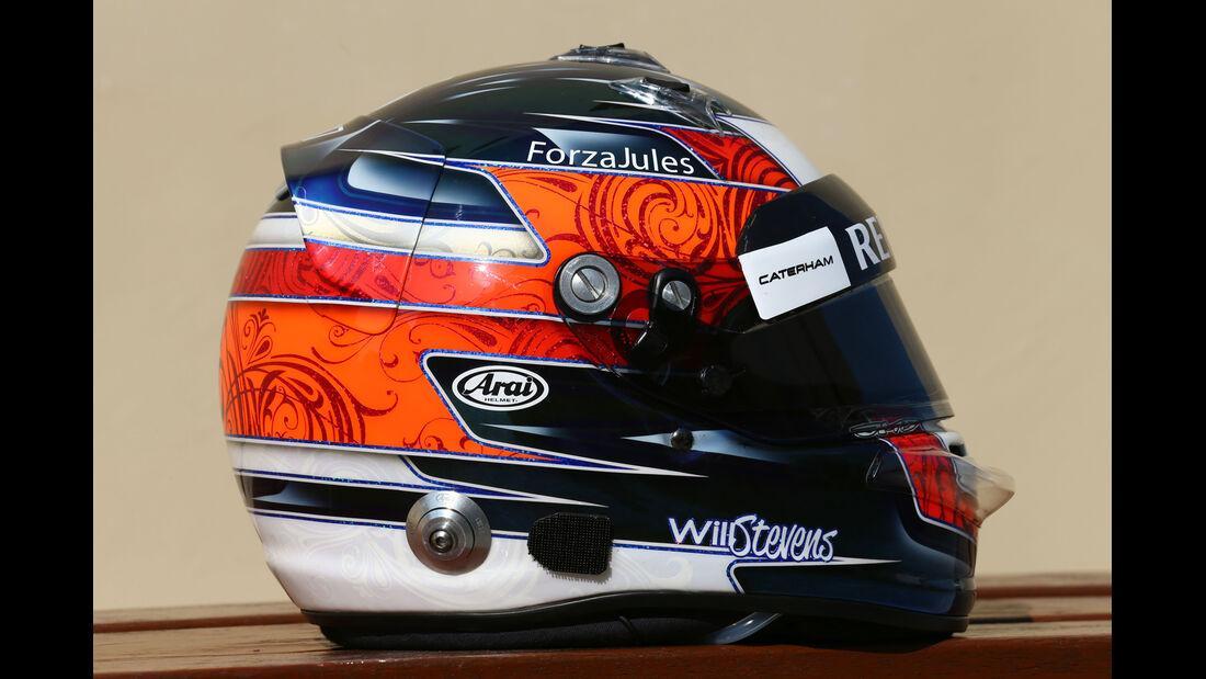 Will Stevens - Helm  - Formel 1 - 2014