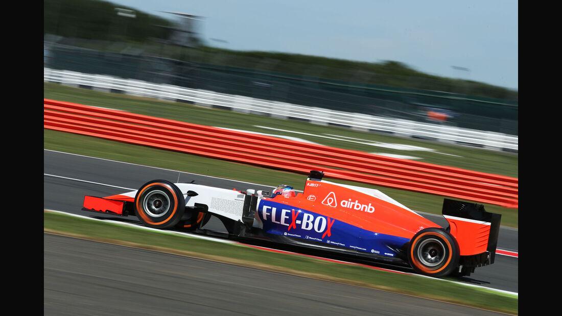 Will Stevens - Manor F1 - GP England - Silverstone - Freitag - 3.7.2015