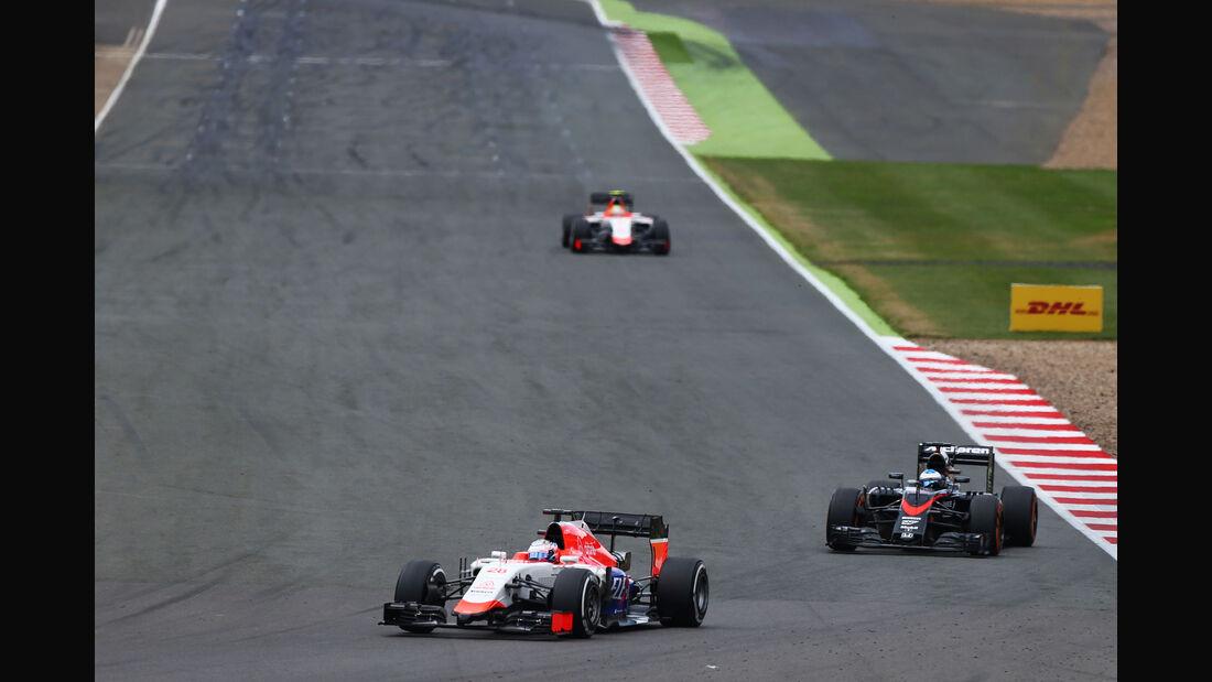 Will Stevens - Manor F1 - GP England - Silverstone - Rennen - Sonntag - 5.7.2015