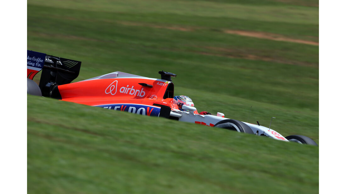 Will Stevens - Manor - Formel 1 - GP Brasilien- 14. November 2015