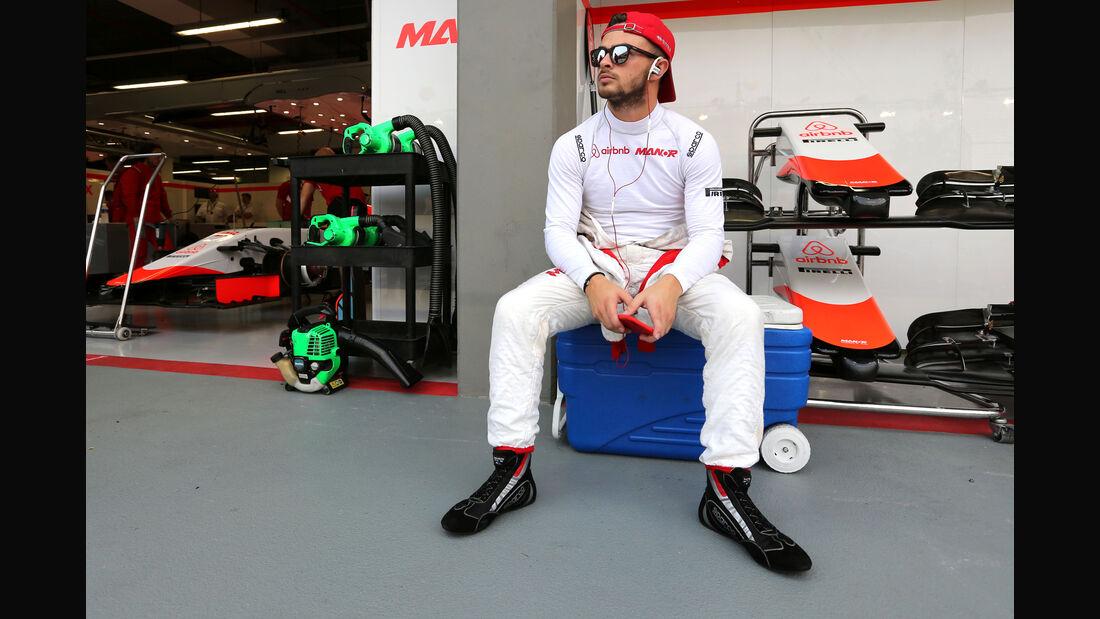 Will Stevens - Manor - Formel 1 - GP Singapur - 20. September 2015