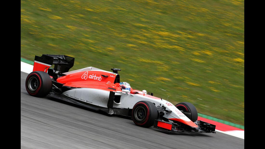 Will Stevens - Manor - GP Österreich - Formel 1 - Freitag - 19.6.2015
