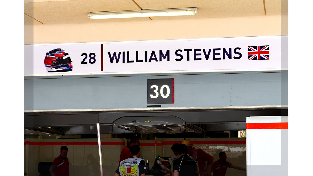 Will Stevens - Manor Marussia - Formel 1 - GP Bahrain - 16. April 2015
