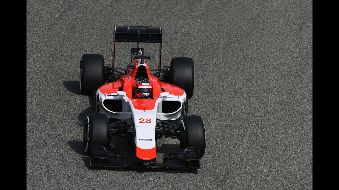 Will Stevens - Manor Marussia - Formel 1 - GP Bahrain - 17. April 2015