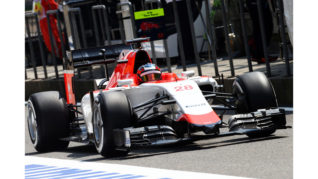 Will Stevens - Manor Marussia - Formel 1 - GP China - Shanghai - 10. April 2015