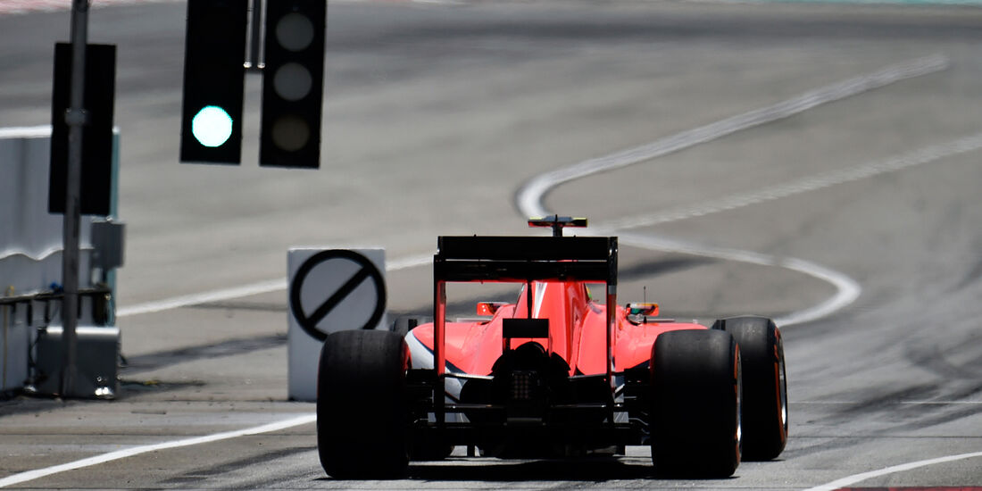Will Stevens - Manor-Marussia - Formel 1 - GP Malaysia - 28. März 2015