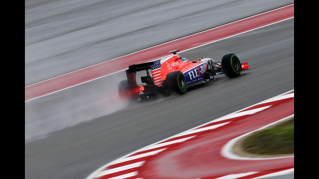 Will Stevens - Manor Marussia - Formel 1 - GP USA - Austin - 23. Oktober 2015