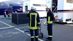 Willams KERS-Feuer GP Deutschland 2013