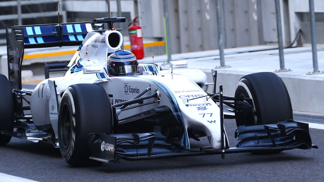 Williams - Abu Dhabi Test 2014