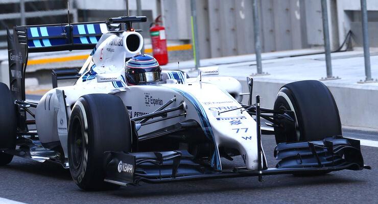 Williams - Abu Dhabi Test 2014