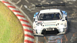 Williams - Audi R8 LMS - Digitale Nürburgring Langstrecken-Serie