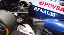 Williams - Auspuff - Formel 1 2013