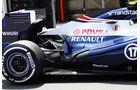 Williams Auspuff - Formel 1 - GP China - 13. April 2013