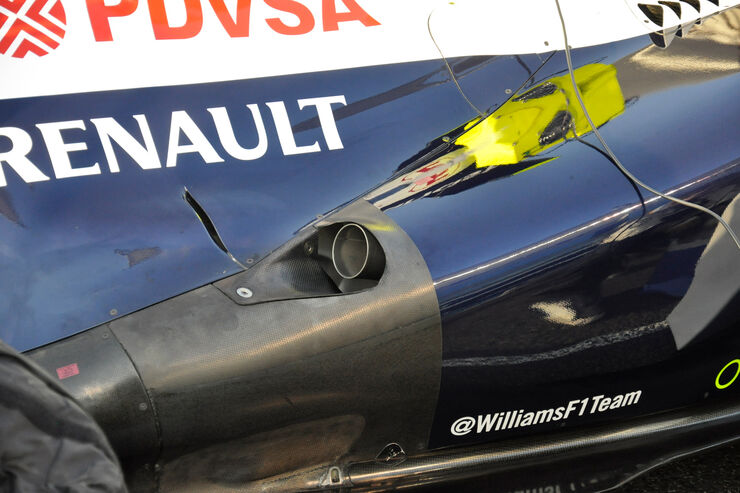 Williams-Auspuff GP Abu Dhabi 2013
