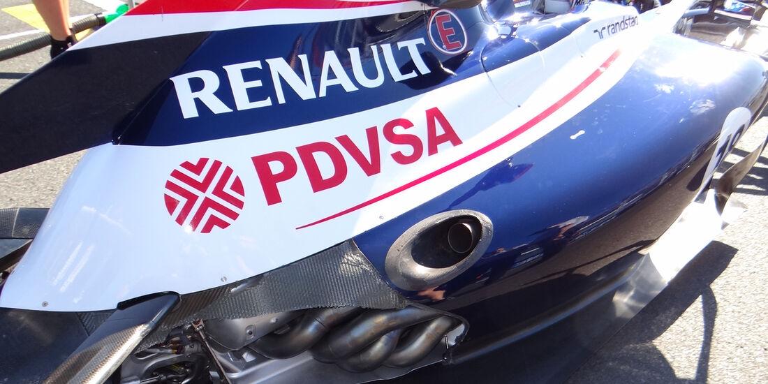 Williams Auspuff GP Australien 2012