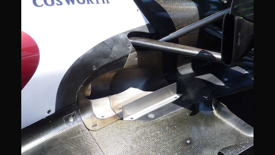 Williams Auspuff GP Europa 2011