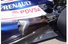 Williams Auspuff GP Ungarn 2012