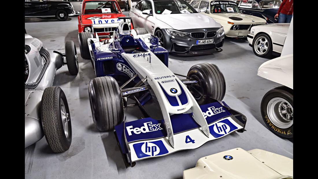 Williams-BMW FW26 - Baujahr 2004 - Formel 1 - Rennwagen - BMW Depot