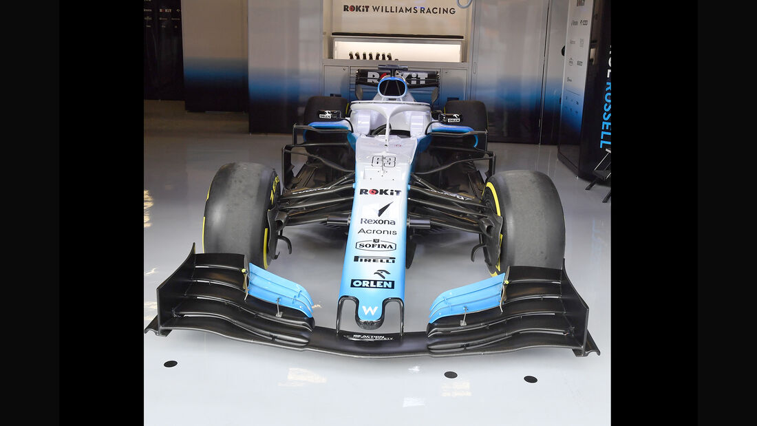 Williams - Barcelona - F1-Test - 19. Februar 2019
