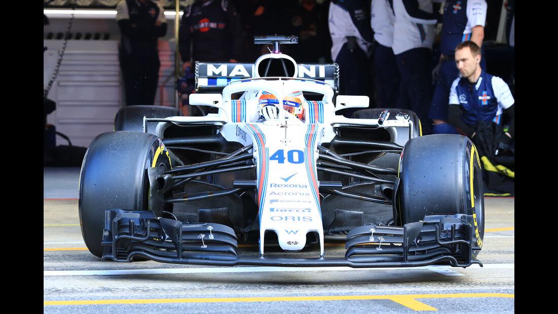 Williams - Barcelona F1-Test 2018