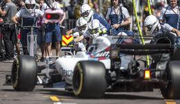 Williams Boxenstopp - F1 - GP Monaco - 2017