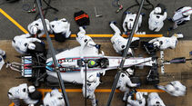 Williams - Boxenstopp - Formel 1 - 2015
