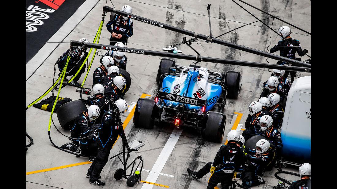 Williams - Boxenstopp - Formel 1 - 2019
