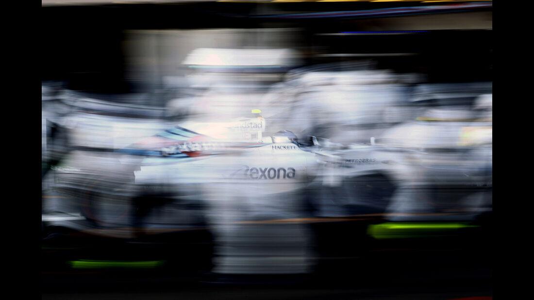 Williams-Boxenstopp - GP Aserbaidschan - Formel 1 - 2016