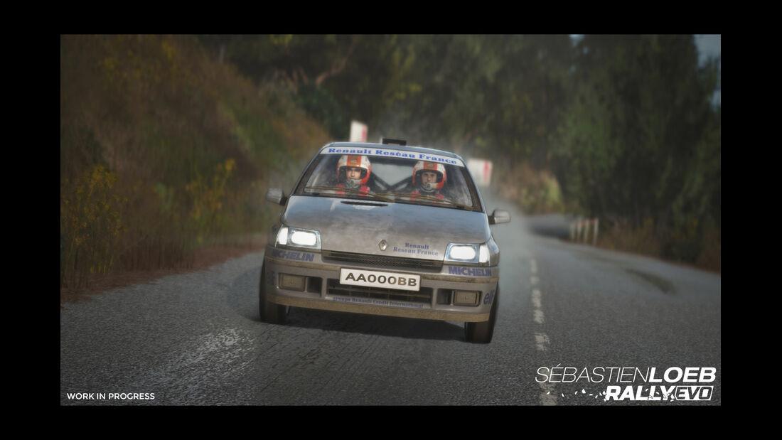 Williams Clio - Screenshot - Sebastien Loeb Rally Evo