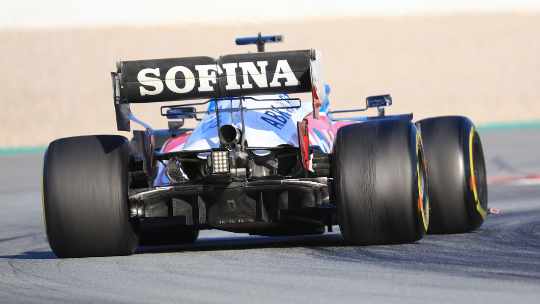 Williams - Diffusor - F1-Test - Barcelona - 2020