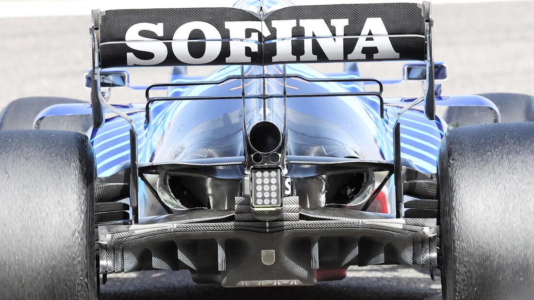 Williams - Diffusor - Formel-1-Test - Bahrain - 2021