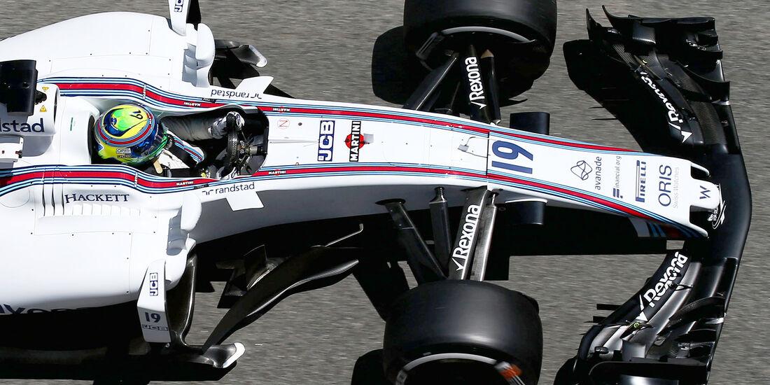 Williams - F1-Abmessungen - 07/2017