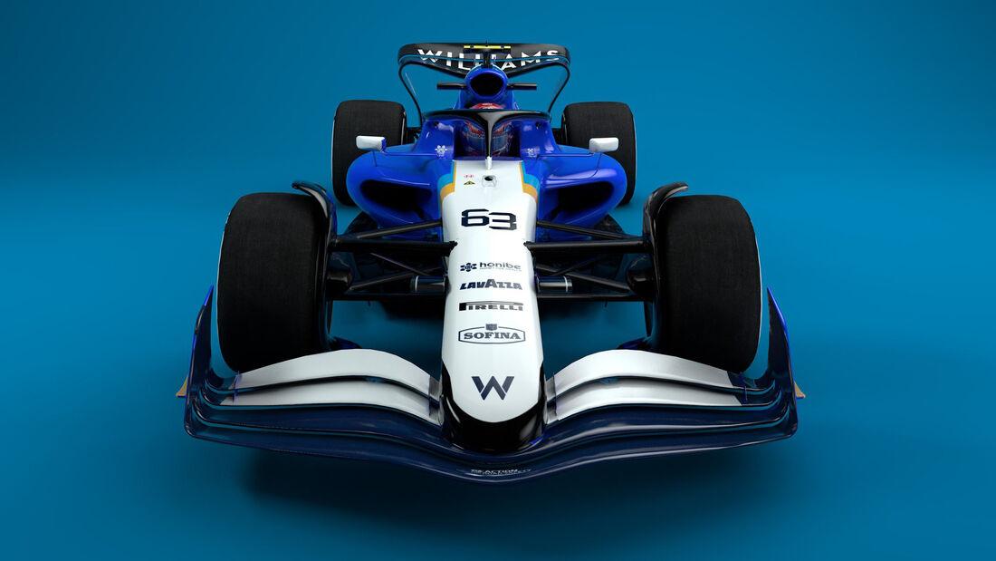 Williams - F1-Auto 2022 - Team-Lackierung