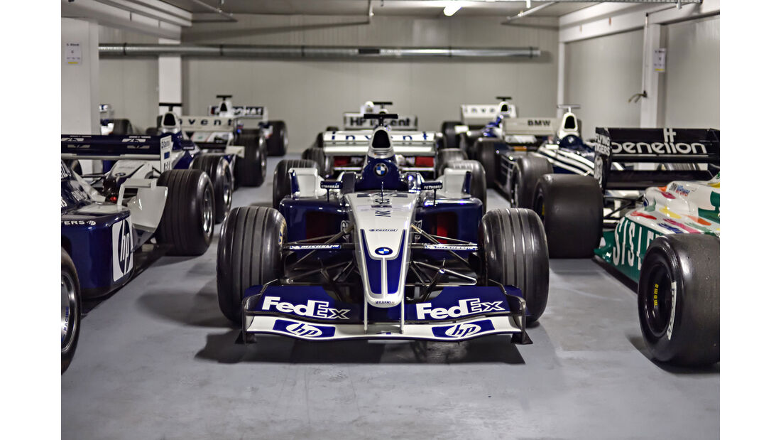Williams F1 BMW FW25 - Baujahr 2003 - Formel 1 - Rennwagen - BMW Depot