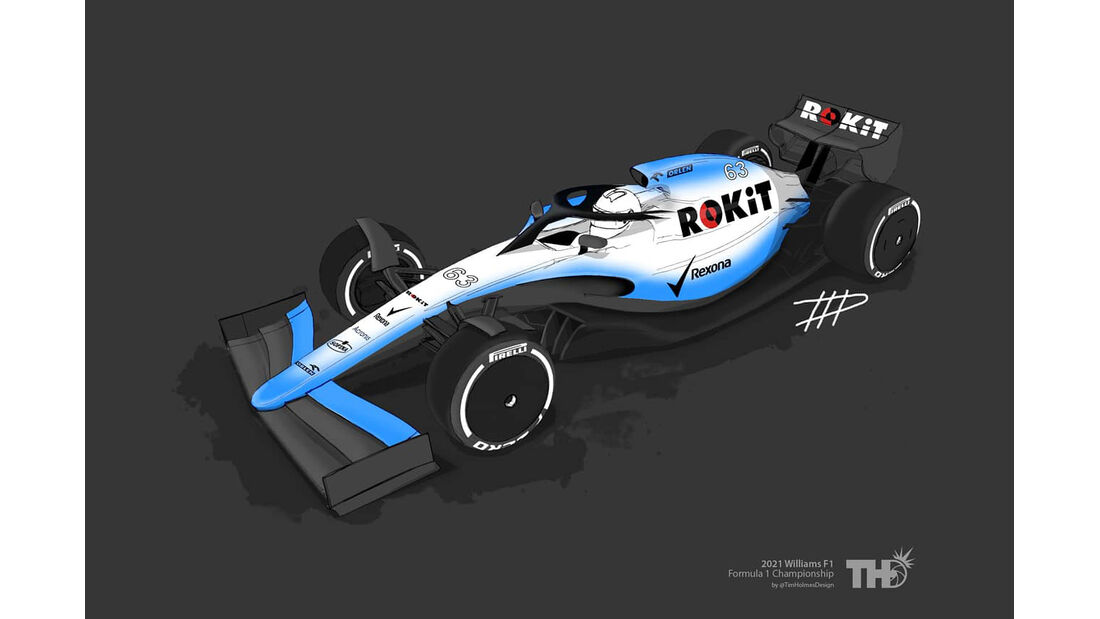 Williams - F1-Concept 2021 - Livery by Tim Holmes