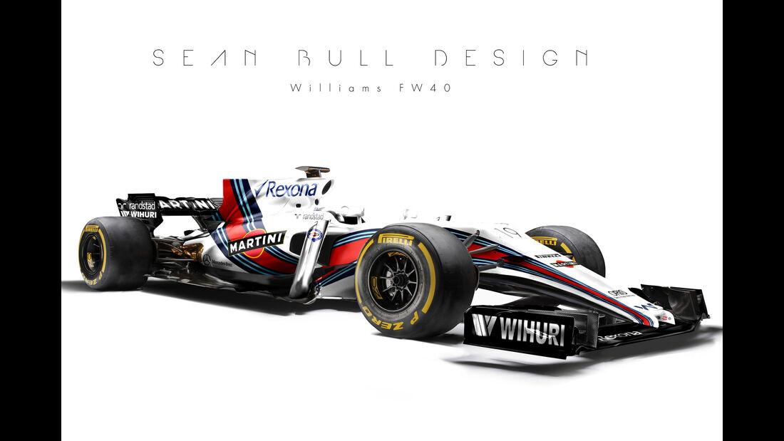Williams - F1-Designs 2017 - Sean Bull - Formel 1
