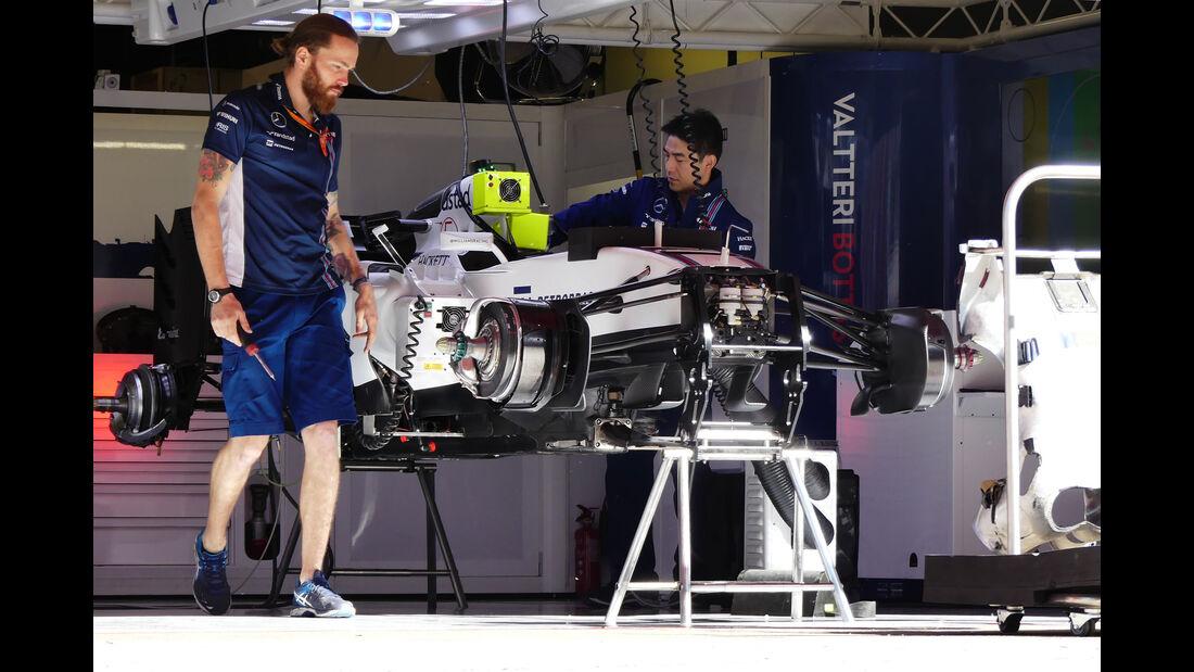 Williams - F1 - GP Spanien - Barcelona - Donnerstag - 12.5.2016