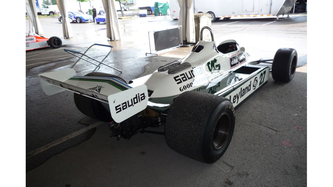Williams F1-Klassiker GP Kanada 2011