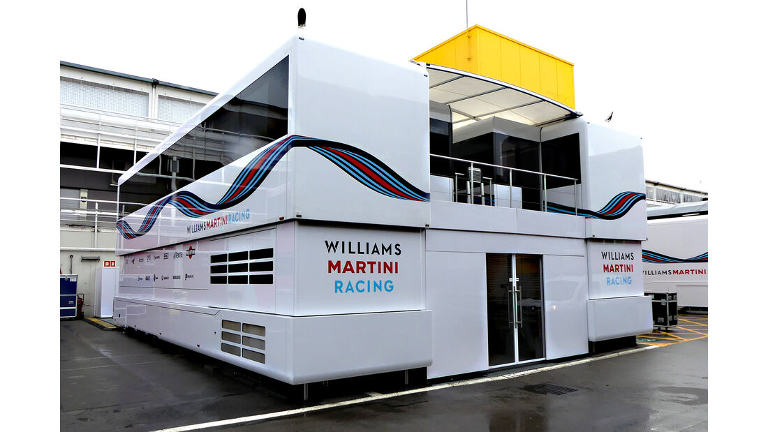 Williams - F1-Motorhomes - GP Spanien 2018